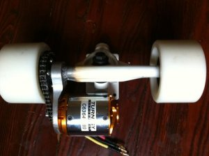 Electric skateboard trucks and mounting 1