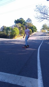 Cheap longboard first ride