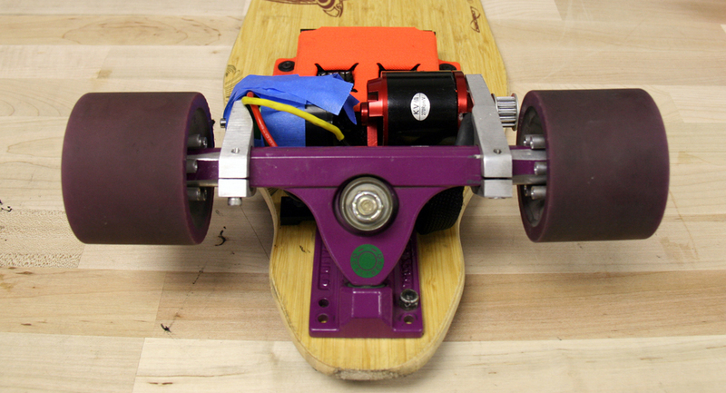Boosted board updated - How to make an electric skateboard